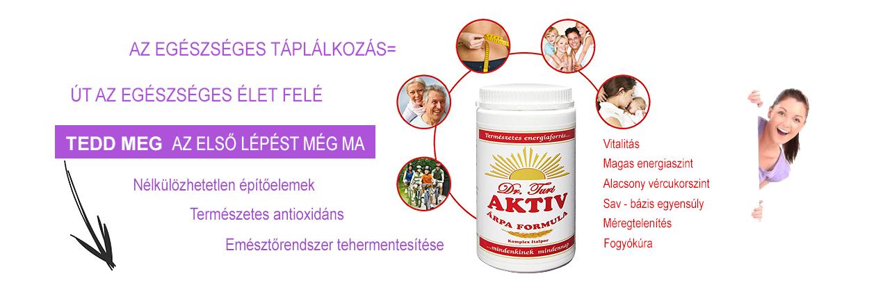 AKTIV Árpa Formula az egészségért